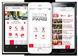 Best Restaurants Paris Mobile Applications